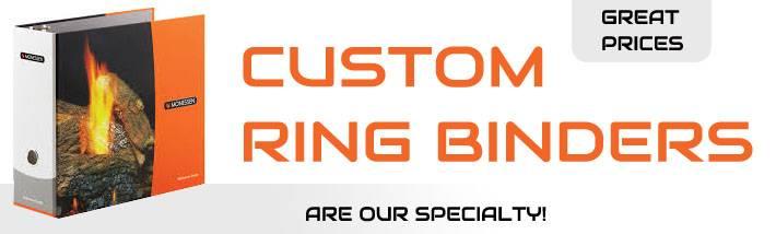 Custom ring binders